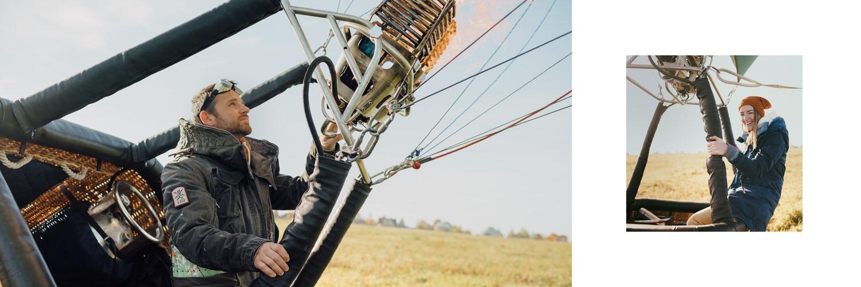 Лавстори на воздушном шаре, приключение