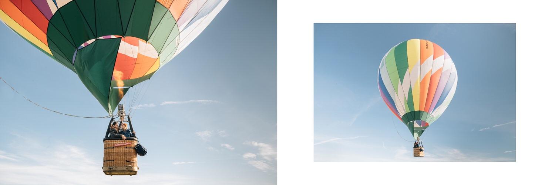 Лавстори на воздушном шаре, хаски, минивен, приключение