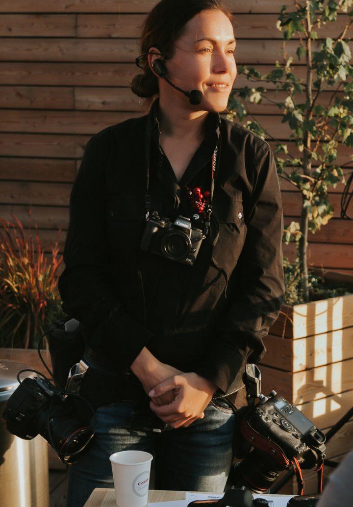 Катя Мухина Фотограф Canon Ambassador
