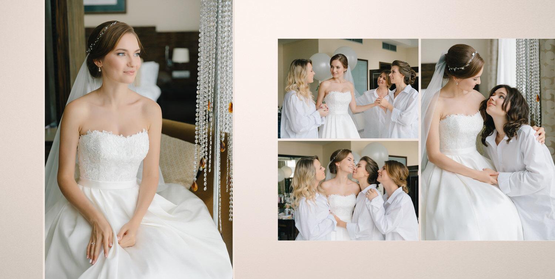 утро невесты crowne plaza светлый номер молодоженов