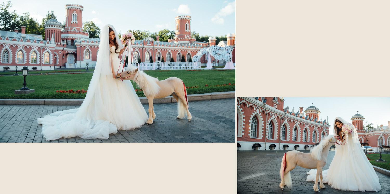 свадьба в Москве в Петровском Путевом дворце