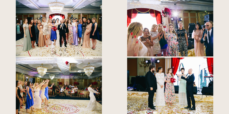 Свадьба в отеле Ритц-Карлтон Москва