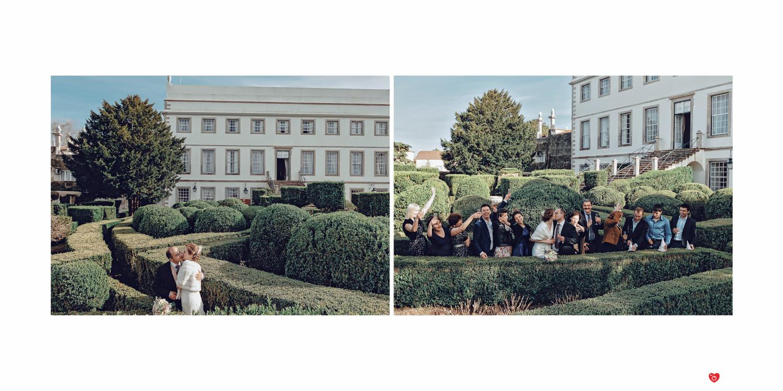 Свадьба в Португалии, во дворце Синтра Пена Тиволи
