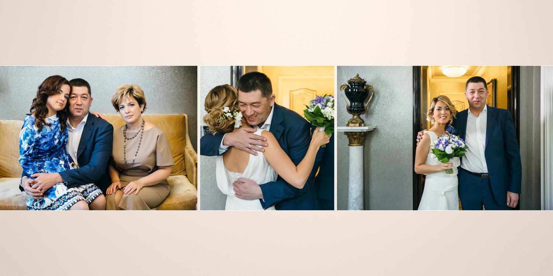 Семейная свадьба St Regis Никольская Москва Фотограф Катя Мухина