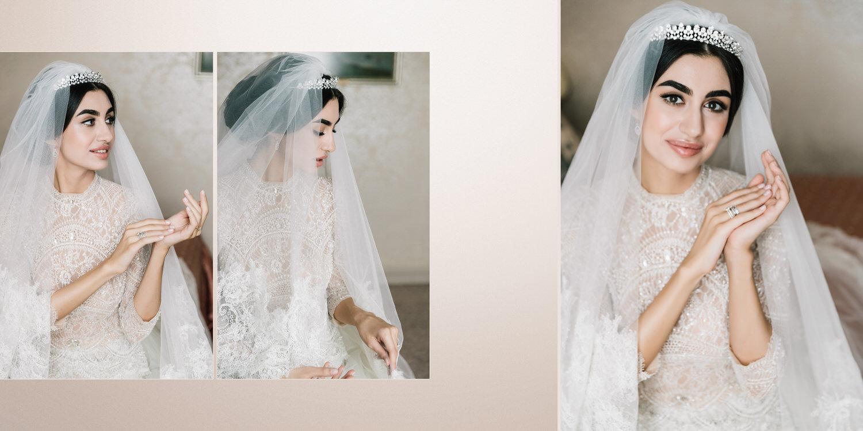 Ersa Atelier Couture свадебное платье, красивая кавказская невеста