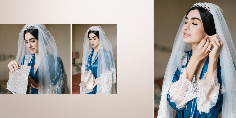 Красивая невеста Осетинка