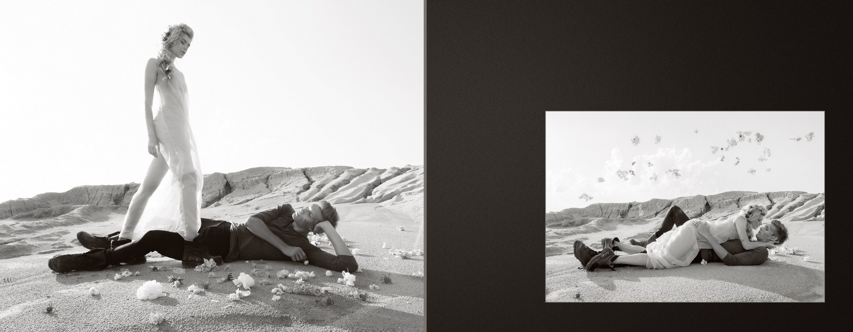 Фэщн Лавстори Марс Футуризм Концептуальная фотосессия