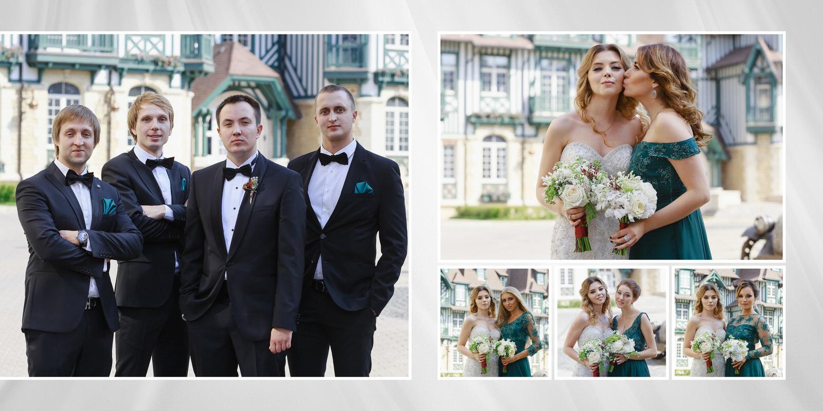 свадебная фотосессия в довиль