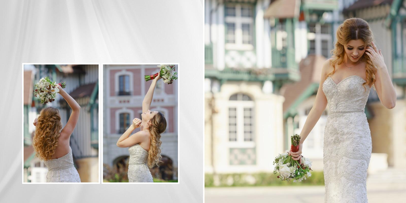 свадьба в Довиль, фотосессия в европейском стиле