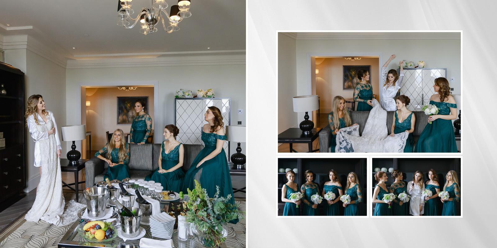 Four Seasons сборы невесты в номере отеля