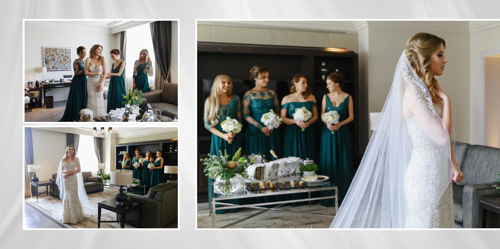 Four Seasons сборы невесты в Москве в отеле