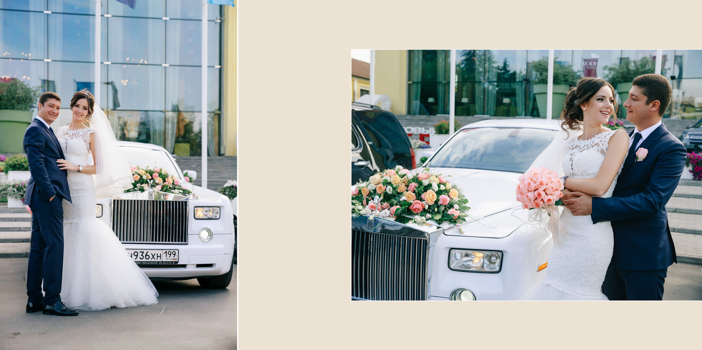 Ролс Ройс на свадьбу