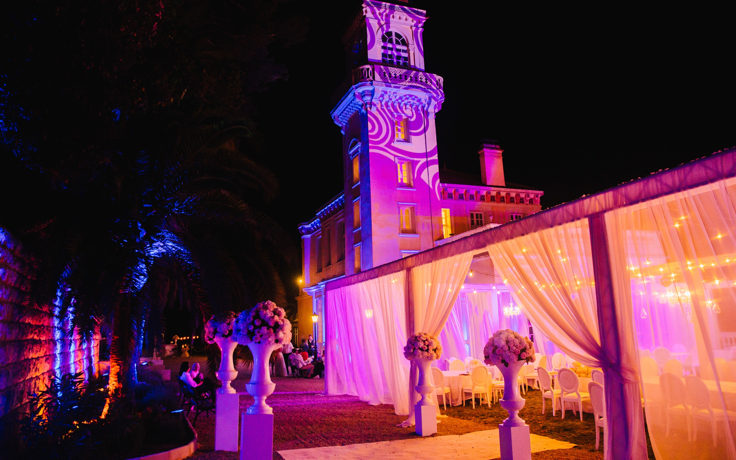 Château Saint Georges - Wedding Luxury Event Cannes - French Riviera
